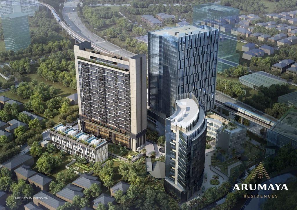 Komplek Apartemen Arumaya Residences